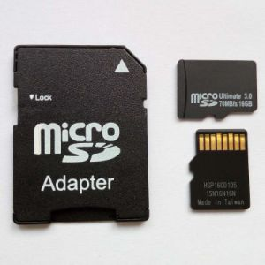 Real Capacity Memory Card 8GB 3.0 Micro SD Card Made in Taiwan pictures & photos