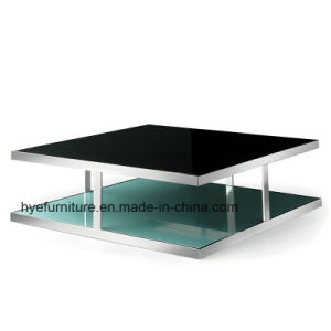 Living Room Furniture New Design Glass Coffee Table (M071) pictures & photos