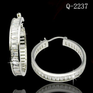 Fashion Jewelry Silver Earring Factory Wholesale pictures & photos
