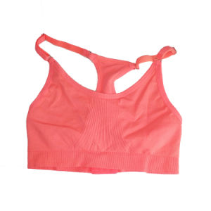 Seamless Printed Push up Sports Bra pictures & photos