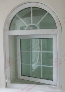 China Manufacturer of PVC/UPVC Arch Window (BHP-CWA15) pictures & photos