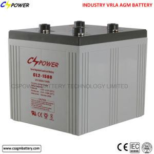 Rechargeable 2V1500ah Lead Acid Battery for Solar pictures & photos