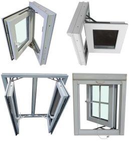 PVC Double Glazed Windows, UPVC Casement Window pictures & photos