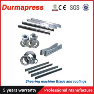 Material 6crw2si Guillotine Shearing blade for Cutting Machine pictures & photos