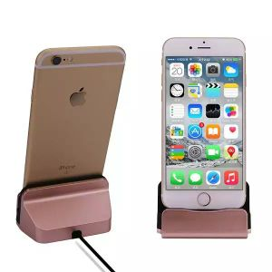 Charger Sync Stand Docking Station with Cable for iPhone 5/5s/6/6plus/7/7plus pictures & photos