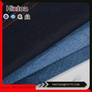 16s Tr Slub Denim Fabric with Viscose Material pictures & photos