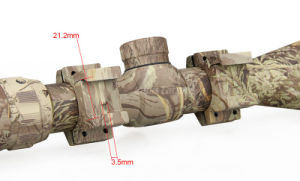 Adjustable 1-6X24 Realtree Hardwoods/Snow Camouflage Tactical Airsoft Rifle Scope Military Combat Hunting Weapon pictures & photos
