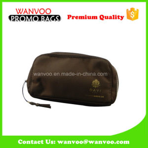Brown Nylon Cosmetic Necessaries Makeup Bag with Tassels pictures & photos