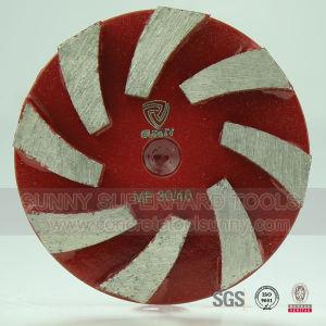 4 Inch Abrasive Diamond Grinding Wheel for Concrete Floor pictures & photos
