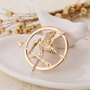 The Hunger Games Katniss Everdeen Cosplay Prop Mockingjay Pin Brooch Badge Metal pictures & photos