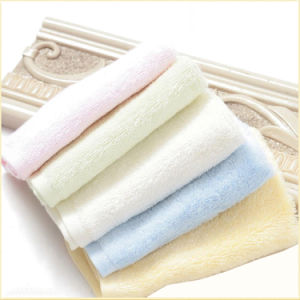 Terry/Terry Velour Plain Color 100% Cotton Face Towel pictures & photos