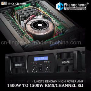 P LCD High Power Series Professional Power Amplifier pictures & photos