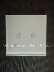 Factory High Quality Glass Switch Plates pictures & photos
