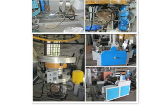 Two Layer HDPE LDPE Film Blowing Machine pictures & photos