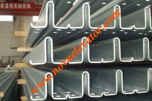 Elevator Lift Machine/ Cold Drawn Guide Rail pictures & photos