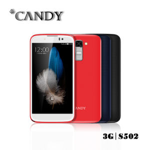 Android5.1 5.0 Inch Qhd2.5D Arc Glass Mobile Phone pictures & photos