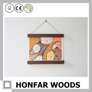 Magnetic Poster Hanger Frame Wooden Picture Photo Frame pictures & photos