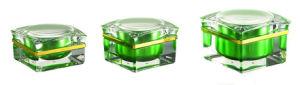 15g, 30g Petal Shape Cosmetic Empty Acrylic Cream Jar pictures & photos