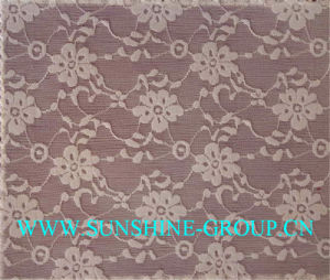 Jacquard Lace Fabric for Garment pictures & photos