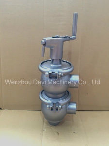 Stainless Steel Hygienic Manual Flow Regulating Valve pictures & photos