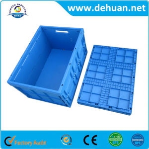 Foldable Plastic Storage Food Packaging Turnover Box pictures & photos
