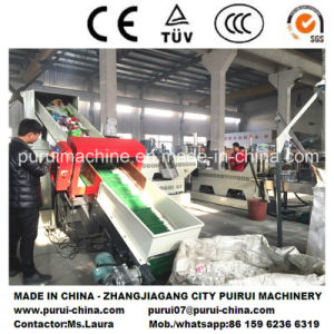 Plastic Recycling Equipment for in-House Waste Recycling 500kg/Hr pictures & photos