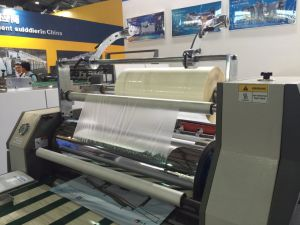 Micro Semi-Auto Film Laminating Machine for Small Factory pictures & photos
