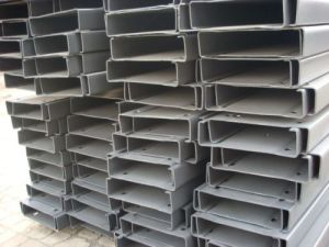 China Best Price Q345 C Section Steel/Galvanized C Channel Solar Energy Support Frame Galvanized Stent pictures & photos