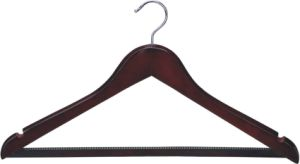Wooden Clothes Male Hangers Wholesales pictures & photos