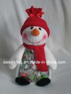 Small Christmas Teddy Bear with Scarf and Hats pictures & photos