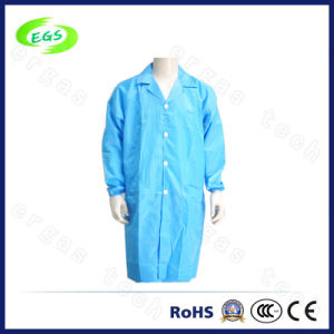 ESD Lapel Smock Anti-Static Blue /Cleanroom/ESD Garment/Cleanroom Coverall pictures & photos
