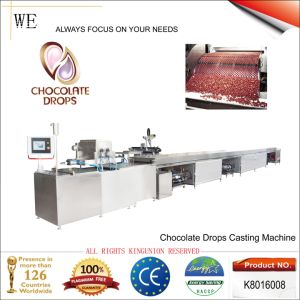Chocolate Drops Casting Machine (K8016008) pictures & photos