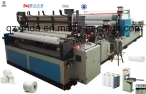 Tissue Paper Perforated Rewinder Production Machine pictures & photos