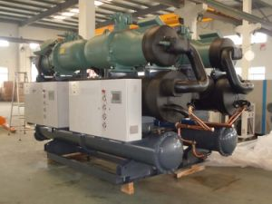 Water Cooled Screw Chiller for Mixing Mill pictures & photos