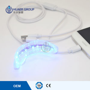 Connected with iPhone and Android Mini LED Teeth Whitening Light pictures & photos