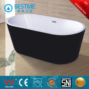 Wholesale Price Black Color Simple Art Bathtub (BT-Y6008) pictures & photos