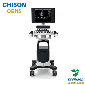 Hospital Medical Trolley 4D Color Doppler Ultrasound Chison Qbit5 pictures & photos