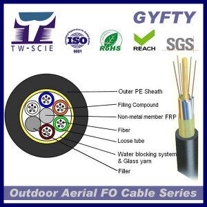 GYFTY Factory Price Non-Metallic Aerial Fiber Optic Cable pictures & photos