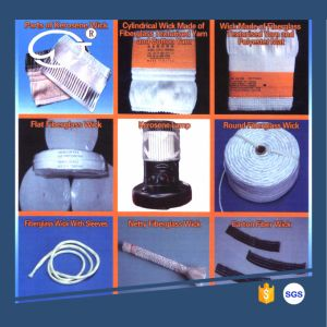 Excellent Absorbability Long Service Life and Non-Knot Fiberglass Wick pictures & photos