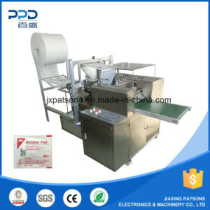 Ce Approved Vertical Alcohol Swab Manufacturing Machines pictures & photos