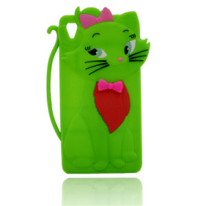 Tom Cat 3D Cute Decorating Silicone Phone Case pictures & photos