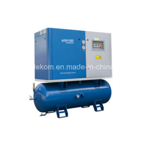 Silent Tank Mounted Screw Mini Electric Air Compressor (KB15-13D/500) pictures & photos