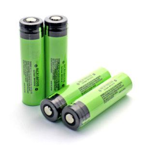 2016 Vivismoke Vapor Cigarettes Panasonic 3400mAh Battery 3.7V NCR18650b Battery 3400mAh Ecig Mod NCR18650b Li-ion Batteries