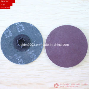 75mm, Ts Type Aluminum Oxide Roloc Abrasives Disc pictures & photos