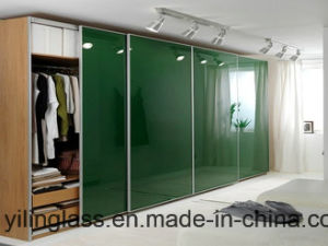 Silk-Scree Printing Color Door Glass with Innovated Patterns pictures & photos