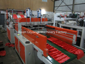Full Auto Four-Line T-Shirt Bag Making Machine pictures & photos