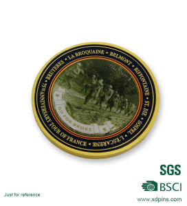 Brass Material Sticker Souvenir Challenge Coin for Soldier pictures & photos