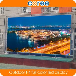 Outdoor High Definition High Brightness P4 Full Color LED Display Screen pictures & photos