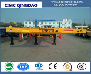 Cimc Axles 20FT Interlink Skeletal Semi Trailer Chassis Truck Trailer pictures & photos