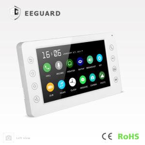 Memory Home Security 7 Inches Intercom Doorphone Interphone Video Door Phone pictures & photos